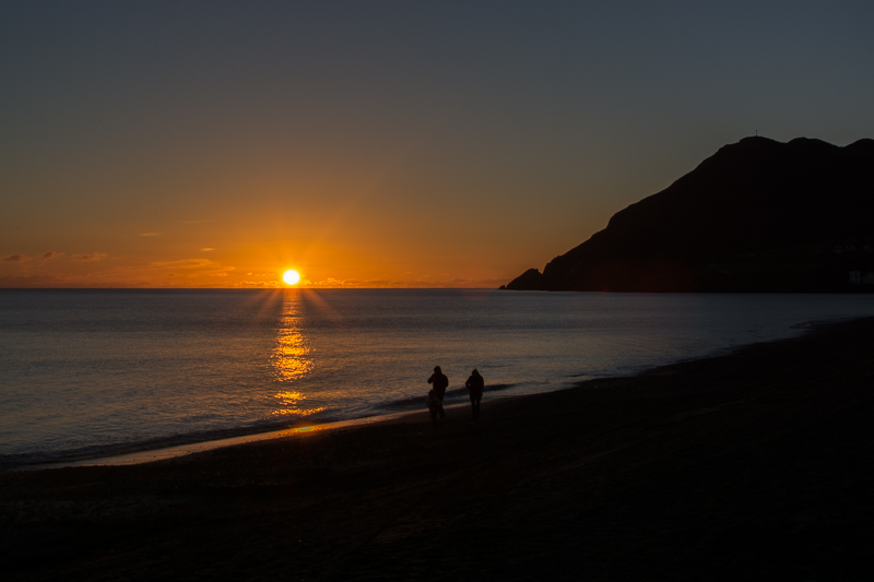Sunrise at Bray Head