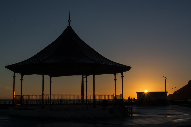 Bray Bandstand at Sunrise