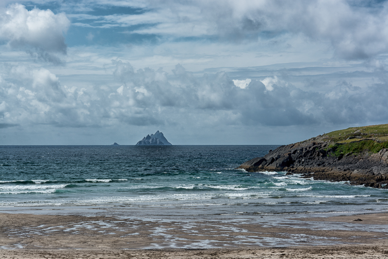 Skellig Islands from St. Finian's Bay