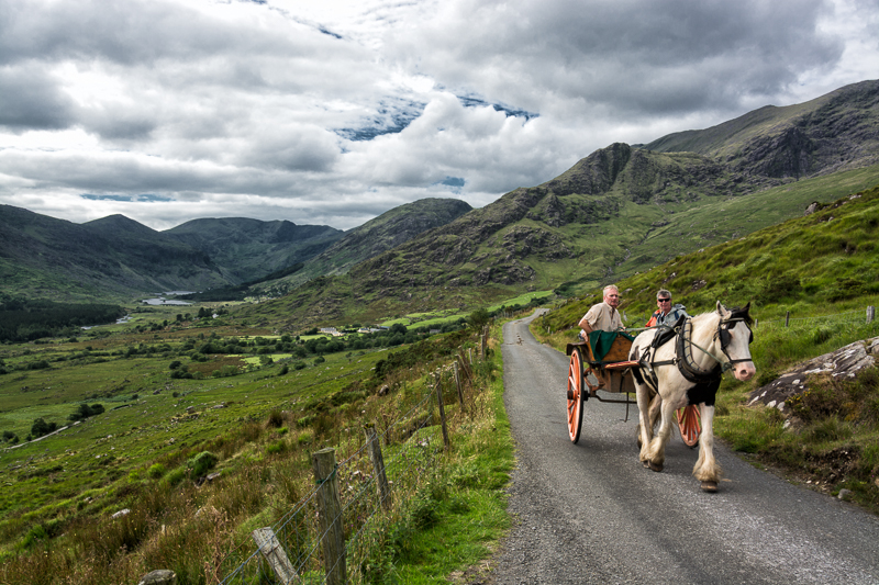 Between the Gap of Dunloe and the Black Valley, Co. Kerry